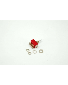 C & K Components - 7405SYCQE - Switch, toggle. 4PDT 5A 120V.