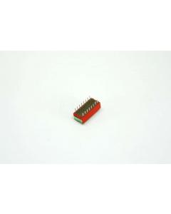 GRAYHILL - 76SB08S - Switch, rocker. SPST 0.15A 30VDC.
