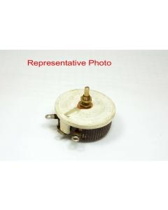 OHMITE - 0441 - Rheostat. Series A, Model K, Ceramic  1 Ohm 100W, Wirewound