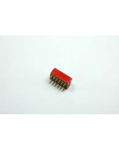 GRAYHILL - 78G02S - Switch, dip. Raised slide 3PST.