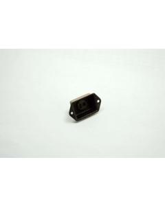 Molex Waldom CINCH JONES - S-3302-DB - Connector, Cinch.  Industrial Socket, 2 Position, Flat Blade Panel Deep Bracket.