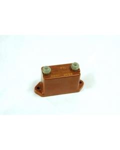 SANGAMO - TypeF1L-0.0001uF - Capacitor, mica. 0.0001uF 3000VDC.