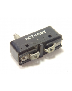 Arco Electric - Aero Snap RC7-102T - Switch, micro, p/b. SPST NC 10A 125V.