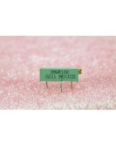 BI TECH - 89WR10K - Resistor, trimming.10K Ohm 3/4W.