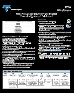 Vishay Sprague - 150D154X9035A - 150D/0.15uF35V - Capacitor, Tantalum. 0.15uF 35V.