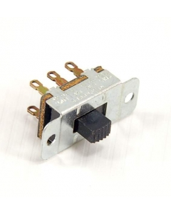 STACKPOLE - 3-132 - Switch, Slide. DPDT 1Amp 125VAC. Package of 10.