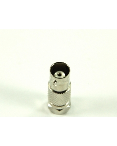 Caltronics - 46-607B - Connector, coaxial. BNC female to F male.