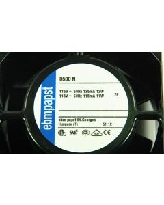 Papst - 8500N - Fan, axial. 115VAC 12/11W.