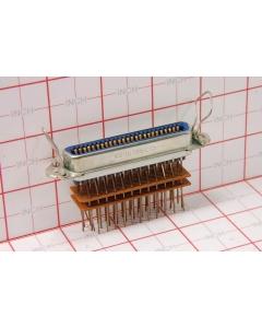 AMPHENOL - KS16786L13 - Connector, micro-pierce. 50 Position female.