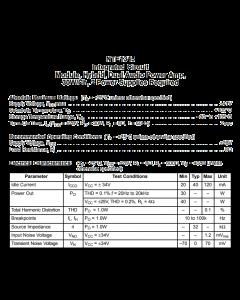 NTE Electronics - NTE1345 - IC, audio. 2 Channel, 30 watt each, audio power amp.