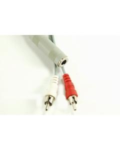 """Calrad - 55-997 - Audio, cable. """"Y"""" adapter."""