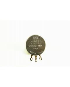 Ohmite - CU7542 - Potentiometer. 750K Ohm 2W.