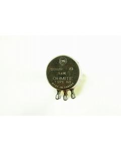 Ohmite - CC1041 - Potentiometer. 100K Ohm 2W. (Dual)(Tandem).
