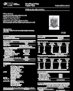 TE Connectivity - Potter & Brumfield - KHU-17D11-12 - Relay, DC. 4PDT 3Amp 12VDC.