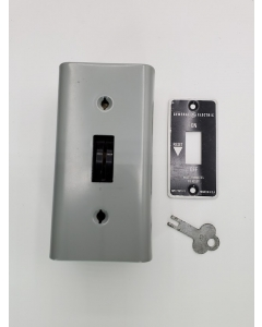General Electric - CR101Y1 - Switch, Motor. Key Sswitch, 1HP, Single Speed..