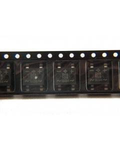 Vishay - DF10SA-E3/77 - Diode, FWB. 700VRMS, 1000V peak 1Amp. SMD. New.