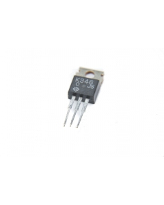 Hitachi - 2SK346 - Transistor, N Ch Mosfet. 20VGSS 60VDSS 5Amp 30W. New.