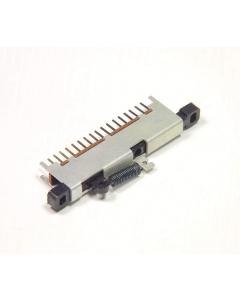 ALPS - 3-171 - Switch, slide. 6PDT Momentary.