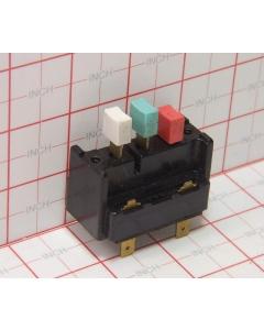 General Electric - ASP3127-49 - HVAc Switch, Pushbutton, Heater Control, 17 Amp 120-240VAC.