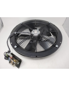 EBM Papst - W4D350-CA06-14 - IP44 - 230/400 VAC,  350x80mm; Round; 1705 CFM New