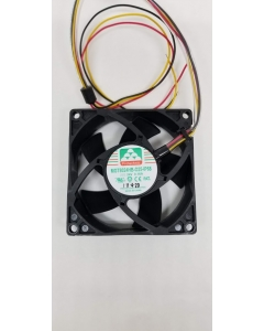Protechnic - MGT8024HB-O25 - IP68 Waterproof Fan,  DC 24V,  0.16A,  3 Pin,  80X80X25mm