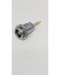 LEMO - ERA.0S.403.CLL  - Female Solder Coaxial, 1 Conductor, IP 50, Cable 1.30 - 6.20 mm.