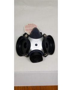 MSA  - 7-201-1 - 460968 - Comfo II Custom Respirator Facepiece - Black, Size Medium