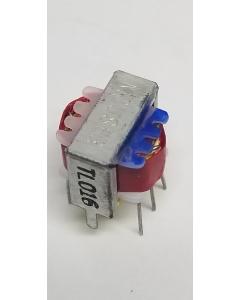 Mouser - TL016 - Transformer, HI Q Magnetic, Ultra-Mini Audio, Pri./Sec. Impedance 600R, Turn Ratio is 1:1.