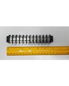 Molex - BEAU - Vernitron - TS12-20 - 194919A12 - Terminal/Barrier Strip. Dual 12 position.