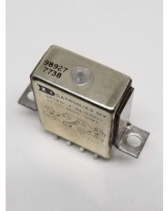 DATRON - 93GB61-4-BA-5.5K - Relay, Double Pole, Electrically Held, DPDT, 110 VDC Coil, Contacts 10Amps, 24 VDC