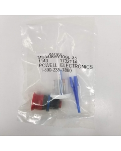 Amphenol Aerospace  - Matrix  - MS3456W10SL-3S - Circular Connector MIL-DTL-5015,  3 POS Crimp ST Cable Mount 3 Terminal 1 Port , With Contacts