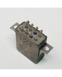 Babock - BG550-2 - BR19X-5.5KD5-115V - Relay, Control, DC. Contacts: DPDT. 10A