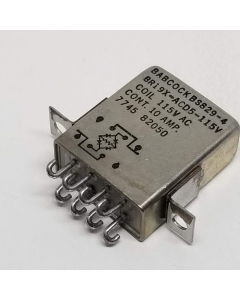Babock - BP011-2 - BR19X-5.5KD5 115V - Relay, Control, 115 VAC, DPDT, 10A.