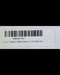 U.S. Tsubaki -  48666  - 20AWG/7C Shielded Cable, 600 Volt, PVC Jacket, Continuous Flex.