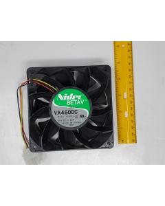 Nidec  Beta V - VA450DC - Brushless Cooling Fan 48VDC, Model V35251-58,  0.62A, 120 X 38mm, Used/Removed from Equipment
