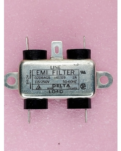 Delta  02DBAG5 - EMI Line FIlter -  General Purpose, New.