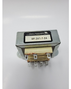 SIGNAL TRANSFORMER INC - DP-241-7-24 - Transformer, Power. 115/230V Primary, 24V Secondary
