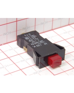 Molex - 3-242 - Panel Mount Snap-in, Pushbutton Switch, P/B. SPDT 2A, 125 VAC, Momentary