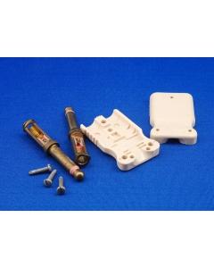 "Western Electric - 464A - DUAL 1/4"" 2-COND PHONE PLUG"
