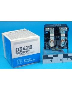 Potter & Brumfield - PRD7DG0-24 - DPST 30A 24VDC Coil (N.O.) Open Frame