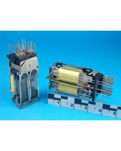 Western Electric - AM1 - Relay, telephone. 10-Poles Double-throw
