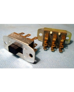 WARMINSTER - CW Industries - GF-861-0002G - Switch, Slide. Contacts: 3PDT. 3A, 125VAC/VDC
