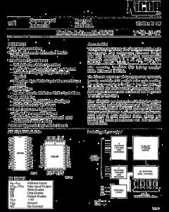 XICOR - X2816BP - IC, EEPROM. 2K x 8. Case: Dip.