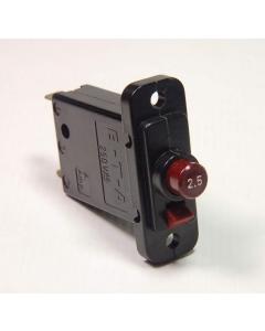 E-T-A - 45-000-P-H - 2.5 Amp Circuit Breaker. SP 2.5Amp 250VAC.