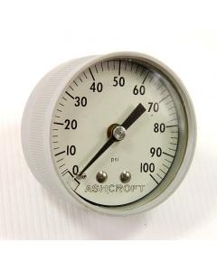 ASHCROFT - 1003 - 0-100 PSI GAUGE