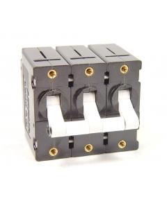 AIRPAX - UPGH666-1-62-153190 - Circuit breaker. 3P 250VAC 15Amp, 50/60 cycle.