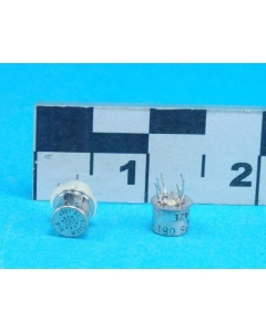 TELEDYNE - M39016/15-106P - Relay, control. Input: DC. Contacts: DPDT.