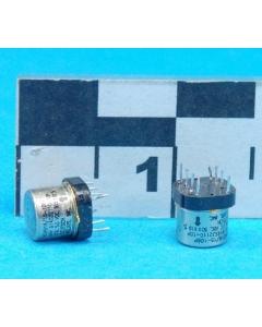 HI-G INC - M39016/15-106P - Relay, control. Input: DC. Contacts: DPDT.
