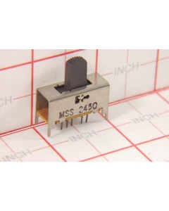 Tyco ALCOSWITCH - MSS 2450 - Switch, slide. DP4T-300mA 4-Position, Instrument Grade