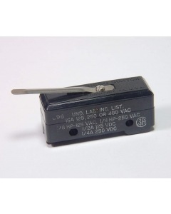 Honeywell/Microswitch - YZ-2RL - Snap Action Leaf Lever  MicroSwitch, micro. Contacts: SPST NO.